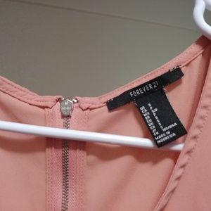 Forever 21 Tops - Forever 21 Pink Dressy Shirt